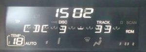 Cuadro display coche Honda Civic 8